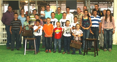 Iowa State Fair Berkshire Showmanship Exhibitors 2013