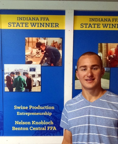 Nelson Knobloch - FFA Swine Proficiency